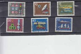 GERMANIA  FEDERALE  1965 -  Unificato  340/45° - Expo - Trasporti - Gebraucht