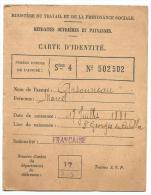 RETRAITES OUVRIERES ET PAYSANNES ..CARTE D'IDENTITE ..1911...TBE.. SCAN - Documents Historiques