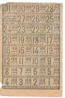 FEUILLES DE TICKETS DE PAIN ..MARS 1919...ETAT MOYEN ..VOIR SCAN - Documents Historiques