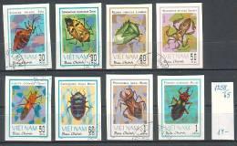 VIET-NAM \ 1982 - Insectes  - 8v Obl. Mi No 1258/65 - CV 14.00 EU - Vietnam