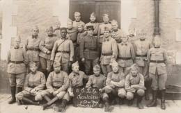 CPA PHOTO MILITARIA - SECRETAIRES D'ETAT MAJOR CLASSE 1932 - Regiments