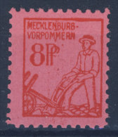 SBZ Mecklenburg Vorpommern Michel Nr. 11 y ** postfrisch MNH / gepr�ft BPP signature