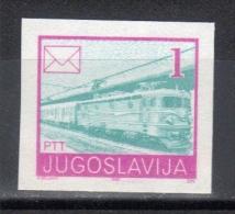Yugoslavia,Postal Services Mi 2422U 1990.,imperforated,MNH - 1945-1992 Socialist Federal Republic Of Yugoslavia