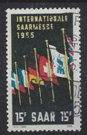 Germany (Saarland) 1955 (o) Mi.359 - Used Stamps