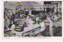 THE GENERAL STORE CAMP PATRICK HENRY VIRGINIA 716            1945 - Etats-Unis