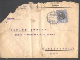 SERBIA - SRBIJA - LETTER  - BEOGRAD To BAYERN - 1907 - DAR - Serbia