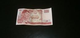 INDONESIA 100 RUPIAH 1968 - Indonesia