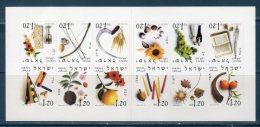 Israele / Israel  2002 -- Mesi Dell'anno --  ( Unif. L38) --   ** MNH / VF - Cuadernillos/libretas