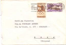 MINISTERO DELL'INTERNO - 00100 - ROMA - LS - FTO 12X17 - TEMATICA TOPIC STORIA COMUNI D´ITALIA - Affrancature Meccaniche Rosse (EMA)
