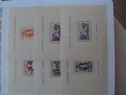 1/ Serie Coloniale 1937 , 24  Valeurs  Neuf  XX  , Cote : 590,00 € , Disperse Trés Grosse Collection ! - 1937 Exposition Internationale De Paris