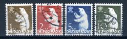 1963 - GROENLANDIA - GREENLAND - GRONLAND - Catg Mi. 58/61 - Used - (T/AE22022015....) - Gebraucht