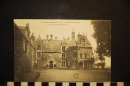CP, 37, SAINT AVERTIN Chateau De Cangé Cour Interieure Coté Est    N°357 Edition GB - Saint-Avertin