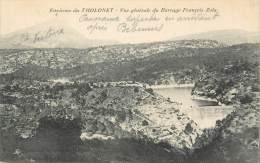 """/ CPA FRANCE 13 """"Environs Du Tholonet, Vue Générale Du Barrage François Zola"""" - Autres Communes"""