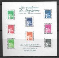 """France :Bloc & Feuillet N°42** Sous Faciale """"les Couleurs De MARIANNE En Francs"""" - Mint/Hinged"""