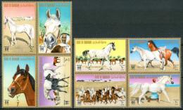 1975 Bahrein Cavalli Horses Chevaux MNH** Fiog6 - Bahrein (1965-...)