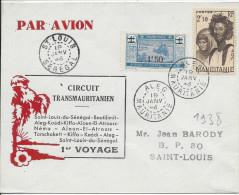 Circuit Transmauritanien, Saint Louis Du Sénégal - Boutilimit - Aleg-Kaédi - Aïoun-El-Atrouss - Néma Etc .. 1er Voyage - Mauritanien (1906-1944)
