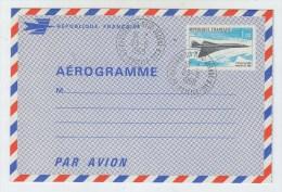 France CONCORDE FDC AEROGRAME - Concorde