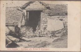 Valle Vigezzo-Casolare Alla Colma Di Craveggia  1906  Animé - Italia