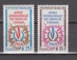 French Polynesia 1968,2V,set.human Rights,mensenrechten,menschenrechte,droits De L'homme,MNH/Postfris(D2196) - Frans-Polynesië