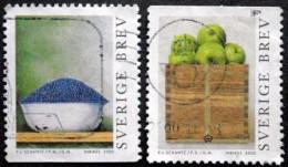 Sweden 2000   Fruit   Minr.2179-80 (O)  ( Lot B 1502 ) - Sweden