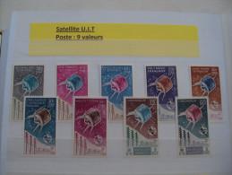 1/ Serie Coloniale 1965 ,  9 Valeurs  Neuf  XX  , Cote : 555,00 € , Disperse Trés Grosse Collection ! - France (ex-colonies & Protectorats)