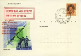 Briefkaart - Flevoland 12e Provincie - 1986 - Postal Stationery