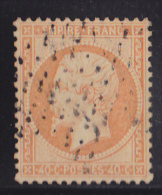 France N°23 - 40c Orange. Oblitéré - TB - 1862 Napoléon III
