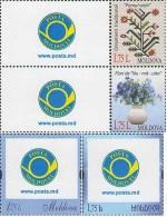 "Moldova Moldawien 2013 MNH ** Mi. Nr. 854-857 Personalized Stamps ""My Stamps"" - Moldavië"