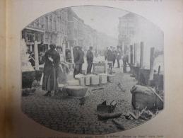 Belgium - Bergen Op Zoom -Belgian Refugees   - World War I  1914-18 Hungarian Print 1TVH325 - 1914-18