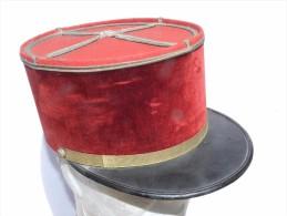 TRES BEAU KEPI SERVICE DE SANTE ADJUDANT CHEF  - ANNEES 1930  à Voir ........... - Casques & Coiffures