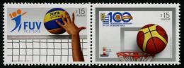 Uruguay (2015) - Set -  /  Basketball - Baloncesto - Basquetbol - Volleyball - Volley - Baloncesto