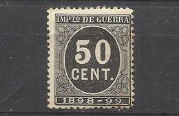 2100B-SELLO IMPUESTO DE GUERRA FISCAL AÑO 1898-1898,PARA SUFRAGAR LAS COSTAS DE LAS GUERRAS EN ULTRAMAR.SPAIN REVENUE - Impuestos De Guerra