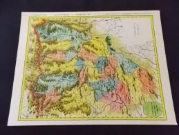 Pays De Commingues  Carte Editée Par Les Laboratoires Marinier Bi Citrol Carbagol Petitjean Gravure N 49 - Cartes
