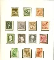 Autriche Osterreich - AUSTRIA - 14 Stamps Unused - 1945-60 Nuevos & Fijasellos