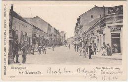25416g SERBIE - Fürst Michael-Strasse - 1902 - Serbie