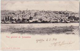 25433g JERUSALEM - Panorama - Joseph A. Mitri  Editeur - Israel
