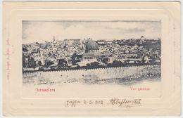 25434g JERUSALEM - Panorama - 1902 -  Joseph A. Mitri  Editeur - Israel