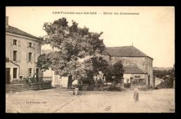 88 - CHATILLON-SUR-SAONE - HOTEL DU COMMERCE - Andere Gemeenten