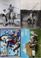 4 Cpm Cheval Gardian Camargue - Horses