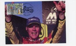 Joel Smets-Motocross-Belgique-carte Maximum - Motos