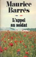 MAURICE BARRES  L´APPEL AU SOLDAT 1975 506 PAGES PLUS PUBLICITES - Historic