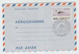 France JUVAPHIL CONCORDE FDC AEROGRAMME 1979 - Concorde