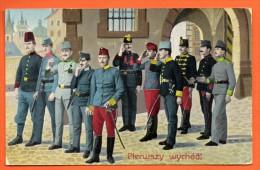 Pologne. Galicie. Cracovie. Soldats De L´armée Austro-Hongroise. Première Permission. Feldpost  1915 - Polen