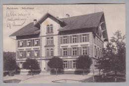 AK BE MELCHNAU 1920-06-26 Melchnau Schulhaus Foto Häusler - BE Berne
