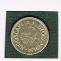 JUGOSLAVIA (YUGOSLAVIA)  -   GETTONE TELEFONICO PTT - Monétaires / De Nécessité