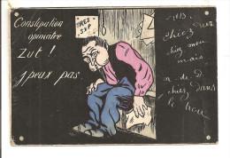 HUMOUR  -  Scatologie -  Constipation Opiniatre  Zut !... J'peux Pas - Humour