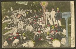 Deutsches Heer Infanterie Im Manöver Grenze Color - War 1914-18