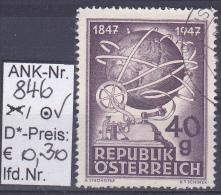 "5.11.1947 -  SM ""100 Jahre Telegraphie""  O Gestempelt  -  Siehe Scan  (846o) - 1945-.... 2ème République"