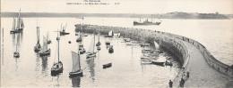 """Carte-panorama - Saint Malo - Le Môle Des """"noires"""" Cote D'émeraude - Saint Malo"""
