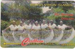 BRITISH VIRGIN ISL.(GPT) - BVI Heritage Dancers, CN : 103CBVG, Tirage 5500, Used - Vierges (îles)